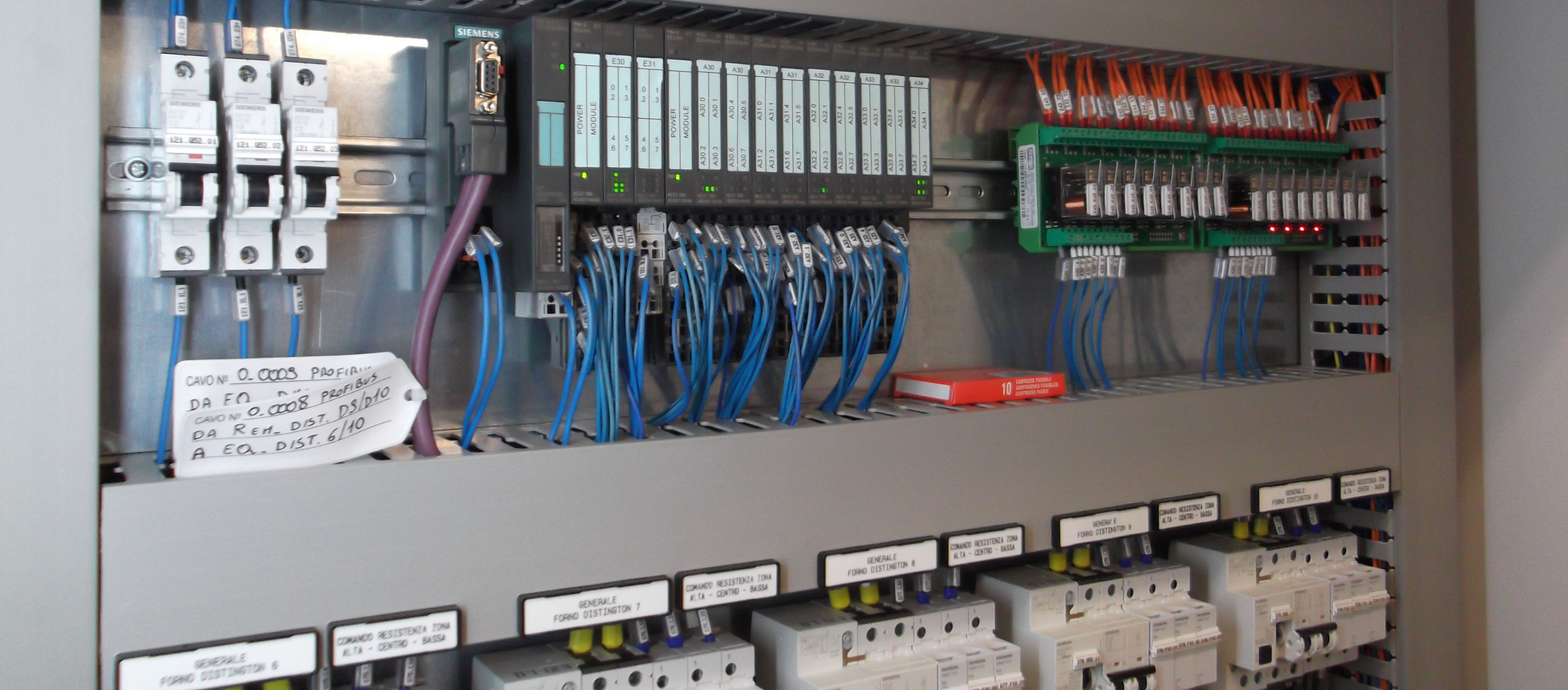 Schemi Elettrici Per Quadri : Elettroindustriale installazione quadri elettrici bergamo